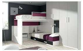 chambre avec lit superposé lit gigogne 2 places amazing dcoration chambre ado lit superpose