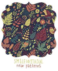 Patterns2 By Julia Grigorieva Via Behance Vector PatternPattern PrintColor