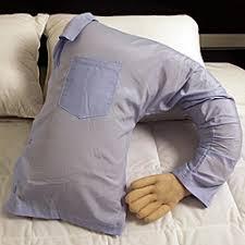 Cuddle up to this uniquely designed arm pillow This dream man arm