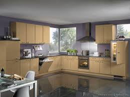Modern And Kitchen Wall Colors With Wood Cabinets Light Floors Design