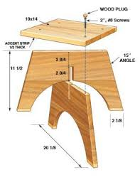 Woodwork Chair Plans