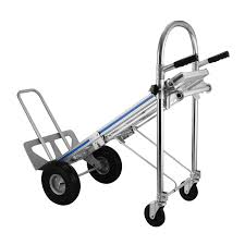 Happybuy Aluminum Hand Truck 3 In 1 Folding Hand Trucks 1000LBS ... 800 Lb Capacity 2way Convertible Hand Truck New Account Pick Up Vevor Folding 3 In 1 1000lbs Vestil Alinum Model Caht500 Harper Steeltough Multipurpose Nylon Dolly Cart 700lb Tuff Safco Products Gemini Jr Tcb Moving Equipment And Supplies Trucks Rwm Casters With Loop Handle Luifure 2in1 Heavy Duty 700 Glass Filled Sydney Trolleys Steel