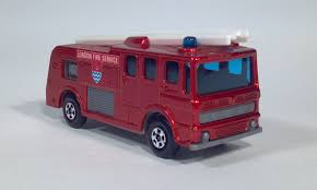 100 Matchbox Fire Trucks Diecast Toy