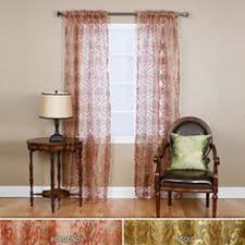 Sheer Curtains At Walmart by Better Homes And Gardens Tapestry Sheer Curtain Panel Sage Ish