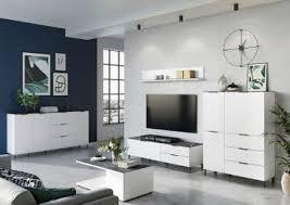 cary wohnzimmer komplettset 2 weiß marmor