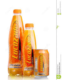 100 Studio 24 London LONDONUK SEPTEMBER 2017 Bottles Of Lucozade Orange