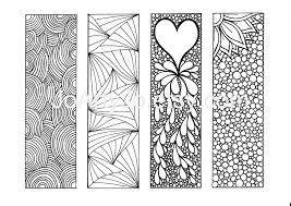 Bookmarks To Color DIY Zentangle Inspired Printable By JoArtyJo