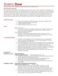 Professional Videographer Templates To Showcase Your Talent ... Leading Professional Senior Photographer Cover Letter 10 Freelance Otographer Resume Lyceestlouis Resume Example And Guide For 2019 Examples Free Graphy Accounting Sample Full Writing 20 Examples Samples Template Download Psd Freelance New 8 Beginner 15 Design Tips Templates Venngage