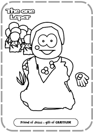 Jesus Baptism By John The Baptist Coloring Pages In Page At Being And Heals Ten Lepers