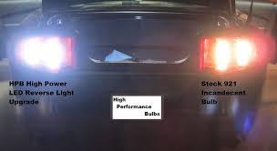 ford mustang high power led light upgrade kit