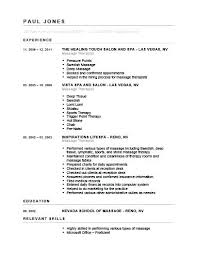 Registered Massage Therapist Resume Examples Feat Sample Generic Therapeutic Therapy