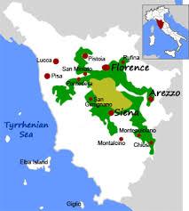 Chianti Wine Region In Tuscany