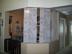 Curtain Room Dividers Ikea by Use Curtain Panels As A Soft Room Divider To Create A Private
