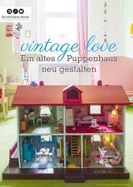 vintage ein altes puppenhaus neu gestalten by