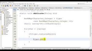 How To Count Duplicate Character In A String Using Java YouTube