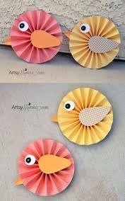 DIY Spring Project Make Paper Rosette Birds Using DCWV Stacks Xyron Products