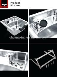 portable shoo bowl for kitchen sink new beauty salon equipment