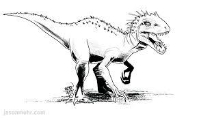 Daily Sketch Jurassic World Indominus Rex
