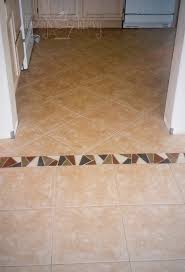 Tile Between Dining Room And Kitchen