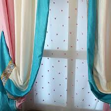 Blue Vertical Striped Curtains by Magnificent Pink And White Striped Curtains And Pink And White