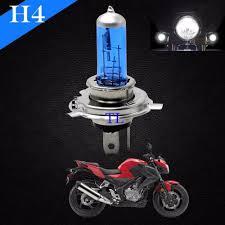 h4 xenon halogen light l bulbs bright white 5000k 100 90w bike