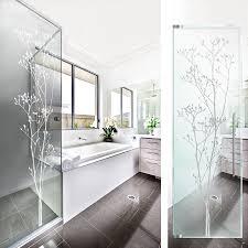 baum glasdekor glastür aufkleber