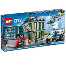 100 Lego City Tanker Truck LEGO Police Bulldozer Breakin 60140 561 Pieces Walmartcom