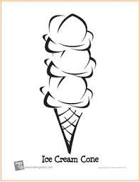 Triple Scoop Ice Cream Cone Birthday