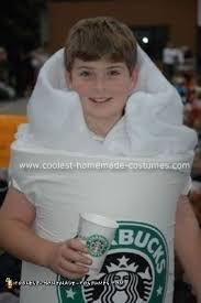 Coolest Homemade Starbucks Coffee Cup Costume