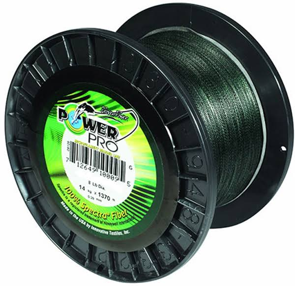 Power Pro Spectra Fishing Line - Green, 20lbs, 3000yds