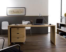 bureau en chêne massif contemporain ethnicraft bureau en chêne