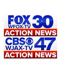 New Logos Unveiled For WJAX TV CBS47 WFOX FOX30