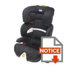 notice siege auto bebe confort iseos chicco siège auto groupe 2 3 oasys black achat vente siège