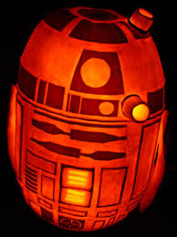 R2d2 Pumpkin Stencil the amazing r2d2 pumpkin from the creator of the death star pumpkin