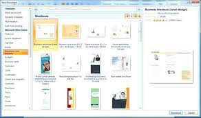 Fold Brochure Template Word How To Make A In Ms 3 2010 Ideas