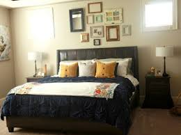 Bedroom Wall Decorating Ideas Decorate With Picture Frames Empty