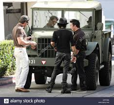 100 Sylvester Stallone Truck Checking Out Army Truck In