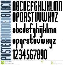 Poster Rounded Bold Condensed Tall Font For Headlines