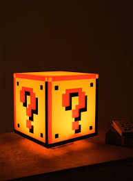 nintendo super mario bros question block light boxlunch