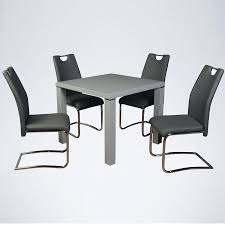 Trend High Gloss Grey 3ft Square Dining Table & 4 Chairs Aldridge High Gloss Ding Table White With Black Glass Top 4 Chairs Rowley Black Ding Set And Byvstan Leifarne Dark Brown White Fnitureboxuk Giovani Blackwhite Set Lorenzo Chairs Seats Cosco 5piece Foldinhalf Folding Card Garden Fniture Set Quatro Table Parasol Black Steel Frame Greywhite Striped Cushions Abingdon Stoway Fads Hera 140cm In Give Your Ding Room A New Look Rhonda With Inspire Greywhite Kids Chair