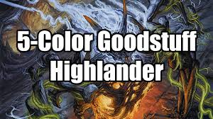 Mtg Thraximundar Edh Deck by Mtg 5 Color Goodstuff Cascade Highlander Deckvorstellung Youtube