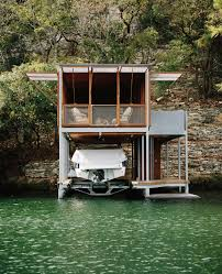 100 Boathouse Architecture Offgrid Boathouse By AnderssonWise Sits On Lake Austin