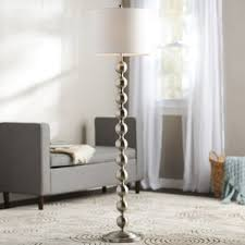 Curved Floor Lamp Next by White Shade Floor Lamps You U0027ll Love Wayfair