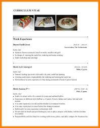 Sushi Chef Resume Cv Sample