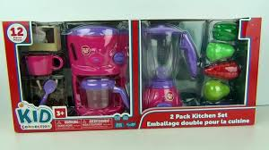 Dora The Explorer Kitchen Playset by Peppa Pig Toy Kitchen Set Coffee Maker Blender Mixer Cooking