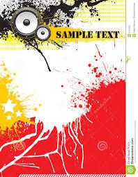 Grunge Music Poster Design