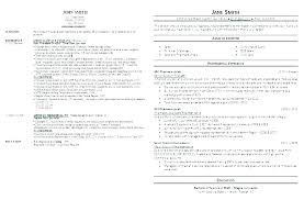 Bad Resumes Examples Good And Resume Example Of