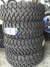 285-70-r17 Comforser MT Mud Tires Bnew | Mindanao Tyrehaus