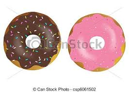 Doughnut Illustrations And Clipart 6237 Royalty Free Drawings Available To Search From Thousands Of Stock Vector EPS Clip Art