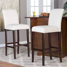 Wayfair Kitchen Pub Sets by Cheap Bar Stools With Backs Pair Of Vintage Tan Leather Bar